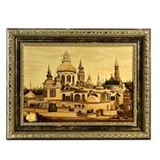 Картина из янтаря Мечеть в Казани фото