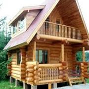 Деревянные дома из экологически чистых материалов, деревянные сооружени фото