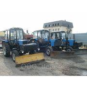 Аренда подметального трактора фото