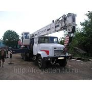 Аренда автокрана СКАТ-25, г/п 25 тонн фото