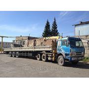 Услуги самогруза 20 тонн в Новосибирске фото