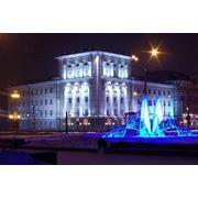 Архитектурная и декоративная подсветка фото