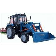 Аренда трактора МТЗ-920 (фронтальный погрузчик + щетка), (отвал + щетка). фото