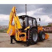 Экскаватор погрузчик в Ижевске тел. 320-360 фото