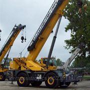 Аренда самоходного крана Gruve RT650E г/п 45 тонн фото