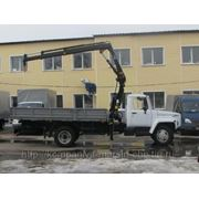 ГАЗ-33104 «Валдай» с краном-манипулятором фото