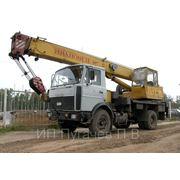 Аренда крана 15 тонн, стрела 14 метров (от 900 руб/час) фото