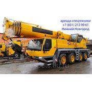 Аренда автокрана 70 тонн Liebherr LTM 1070 фото
