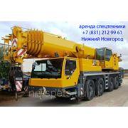 Аренда автокрана 90 тонн Liebherr LTM 1090 фото