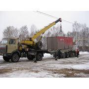 Аренда крана 15 тонн (от 800 руб/час) фото