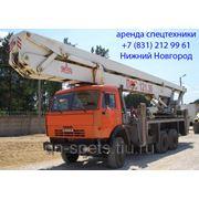 Аренда автовышки 30 метров АГП-30 фото