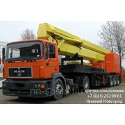 Аренда автовышки 60 метров Ruthmann-TTS-590 фото