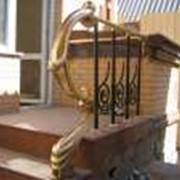 Лестницы литые фото