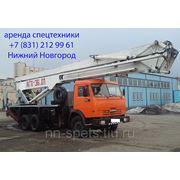 Аренда автовышки 36 метров АГП-36 фото