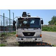 Услуги манипулятора Daewoo Novus + Hiab 190T, грузоперевозки фото