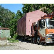 Перевозка гаражей, контейнеров фото