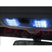 Форд Фокус 2: светодиодная подсветка салона фотография