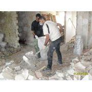 Услуги грузчиков для вывоза строительного мусора фото
