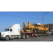 Перевозка тяжеловесных и крупногабаритных грузов в международных направлениях фото