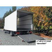 MAN. ГИДРОБОРТ. 4,5 тонн. 36 кб/м доставка грузов фото