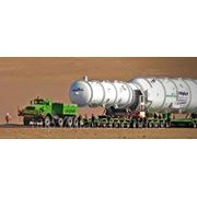 Транспортировка крупногабаритных грузов по краю фото
