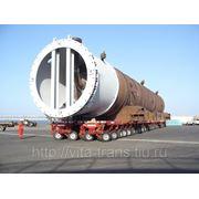 Транспортировка негабаритных грузов фото