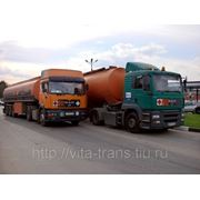 Перевозка наливных грузов авто транспортом фото
