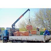 Перевозка строительных материалов фото