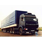 Услуги грузового автомобиля камаз 20 тн фото
