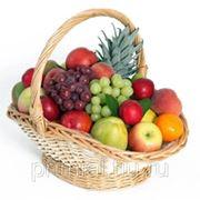 Доставка фруктовой корзины фото