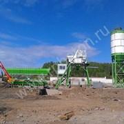 Оборудование для производства бетона РБУ HZS 40 фото