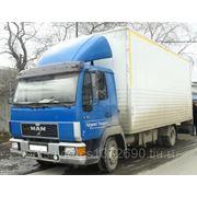 Услуги грузового автомобиля ман 5 тн фото