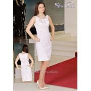 Платье 3705 Белый цвет фото