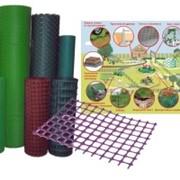 Сетка пластиковая 18х18 1 20 фиолетовый 00114 фото
