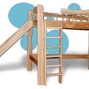 Мебель детская игровая, Детская кровать чердак Пеппи фото