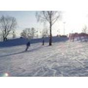 Прокат лыж санок фото