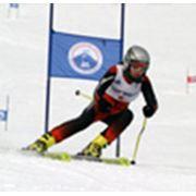 Катание на горных лыжах фото
