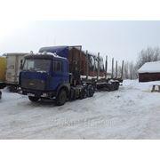 Перевозка пиломатериалов а\м МАЗ, до 35 куб. м. фото