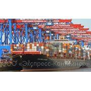 Отправка контейнеров по железной дороге, Доставка грузов морем, фото