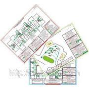 Разработка фотолюминесцентных этажных планов эвакуации при пожаре по ГОСТ Р 12.2.143-2009 фото