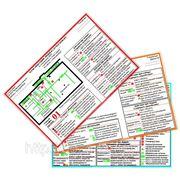 Фотолюминесцентный планы эвакуации ГОСТ 12.2.143-2009 длительность свечения 24 часа фото