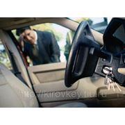 Аварийное открытие автомобиля без повреждений фото