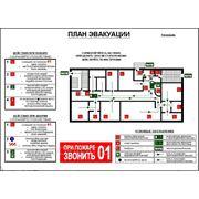 Фотолюминисцентный план эвакуации при пожаре