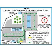 План-схема движения транспортных средств по территории фото