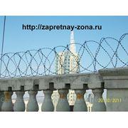 Монтаж инженерных заграждений для защиты периметра. фото