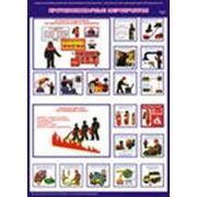 """Плакат """"Противопожарные мероприятия"""" (2 плаката 42х60) фото"""
