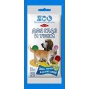 C-airlaid C-airlaid-zoo Влажные салфетки для животных для глаз и ушей 15 шт фото