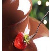 Шоколадный фонтан на праздник фото
