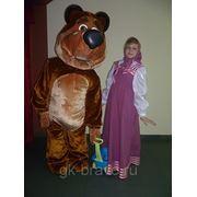 Маша и Медведь. Ростовые куклы на праздник фото