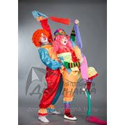 Костюм клоуна и клоунесски фото